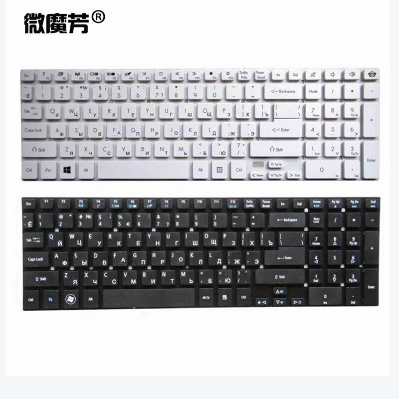 Russie Nouveau Clavier pour Acer pour Aspire 5830 5830G 5830T 5755 5755G V3-571g V3-551 v3-771G V3-571 V3-731 RU Clavier D'ordinateur Portable