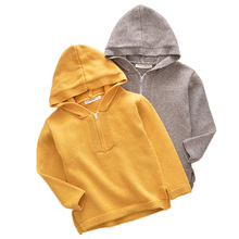 Autumn Winter Children Hoodie Sweater Fashion Turtleneck Warm Jacket Boys Girls Top Sweater Tiny cottons Pullovers kids sweaters 3 6year children clothes high quality baby girls boys pullovers turtleneck sweaters 2018 autumn winter warm kids outerwear
