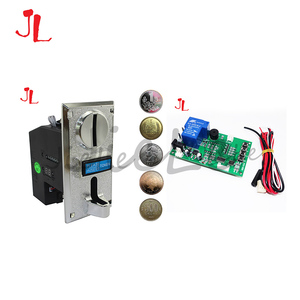 Power Supply Timer Controller Board with 6 kind Coin Acceptor for Arcade Vending Machine with 40cm White Lead