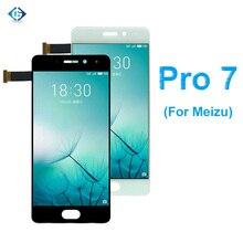 """フル液晶5.2 """"魅プロ7液晶ディスプレイのタッチ画面アセンブリ + フレーム完全なスクリーン魅Pro7ディスプレイアセンブリ"""