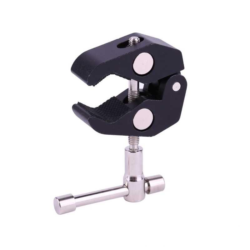 Крутой шаровой головкой адаптер Arm Super Clamp Mount многофункциональный с нижним зажимом для DJI Ronin Gimbal DSLR камеры ЖК-монитор