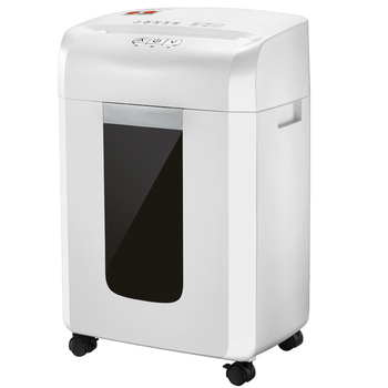 Trituradora de papel de partículas X128/trituradora eléctrica de oficina/máquina comercial de papel de residuos de 16L, trituradora de papel secreto de 5 grados