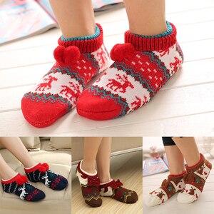Cute Socks For Women Winter Velvet Warm Soft Home Bed Floor Socks Kawaii Girls Female Thicken Rabbit Fluffy Socks Sleep