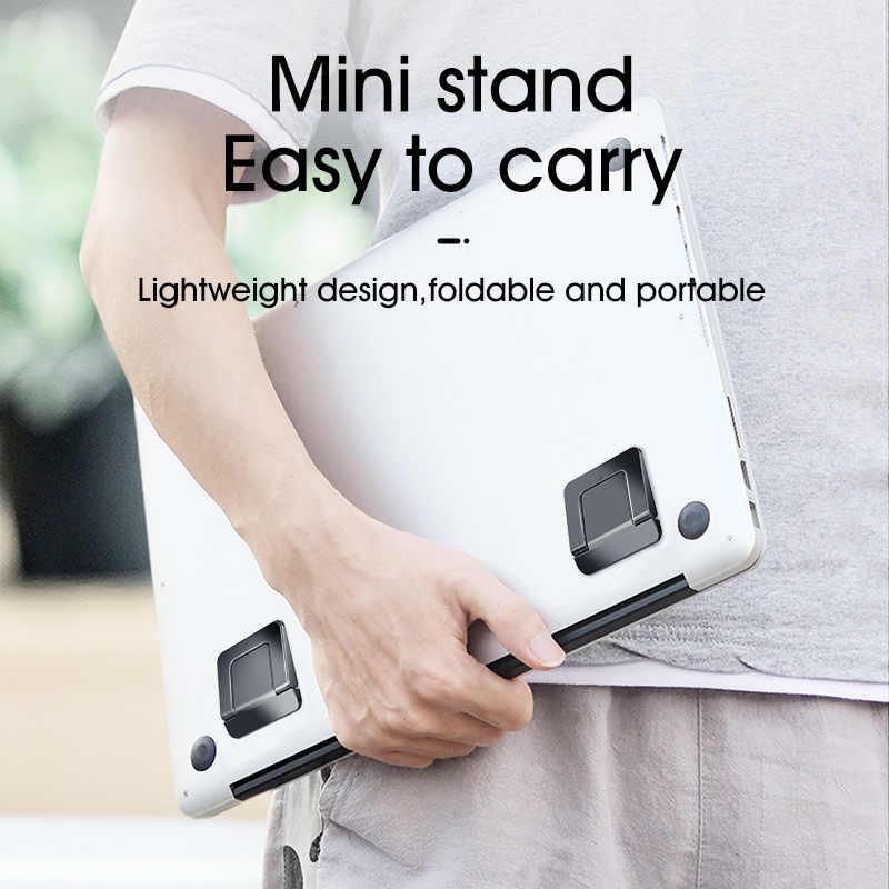 LINGCHEN подставка для ноутбука MacBook Pro универсальная настольная подставка для ноутбука Мини Портативная охлаждающая подставка для ноутбука для Macbook Air