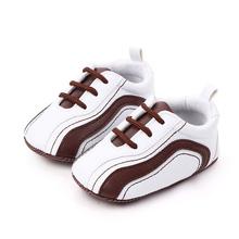 Dziecięce mokasyny dziecięce antypoślizgowe buty do chodzenia PU skórzane dziecięce tenisówki dla chłopców i dziewcząt z miękkimi podeszwami nowonarodzone buty sportowe dla 0-18M tanie tanio Płytkie Wszystkie pory roku Pasek klamra W paski Dla dzieci Unisex Pierwsze spacerowiczów Pasuje prawda na wymiar weź swój normalny rozmiar