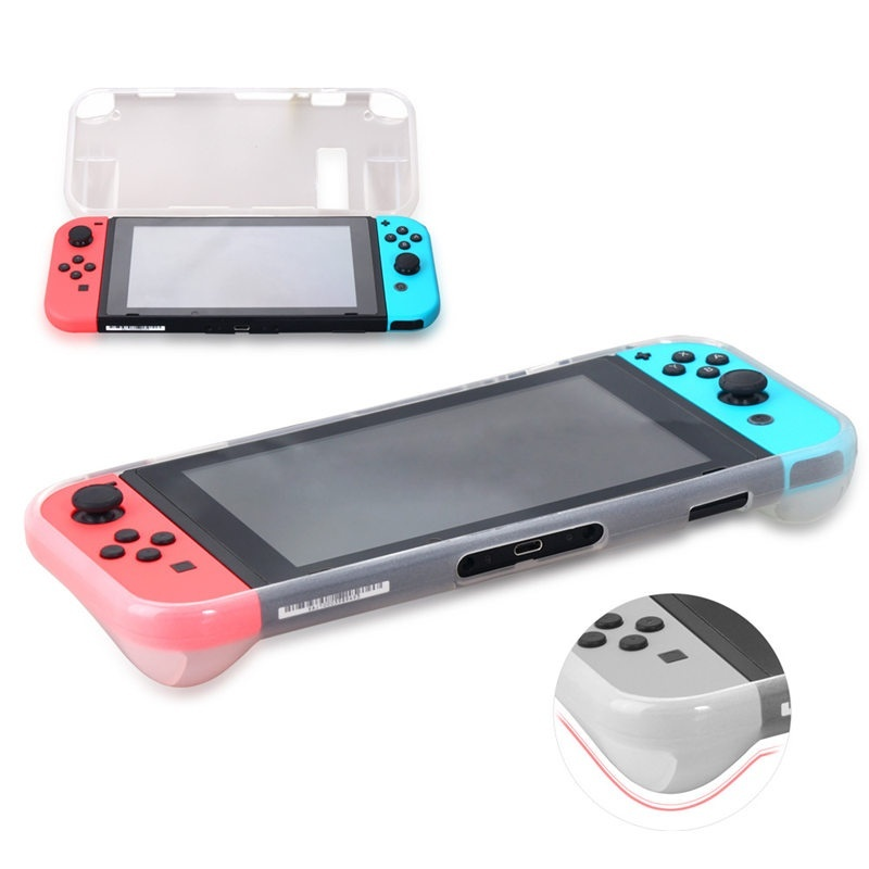 2 in 1 Anti-Scratch Hard Back Case with Screen Protector for Nintend Switch Cover Case Screen Protector 1