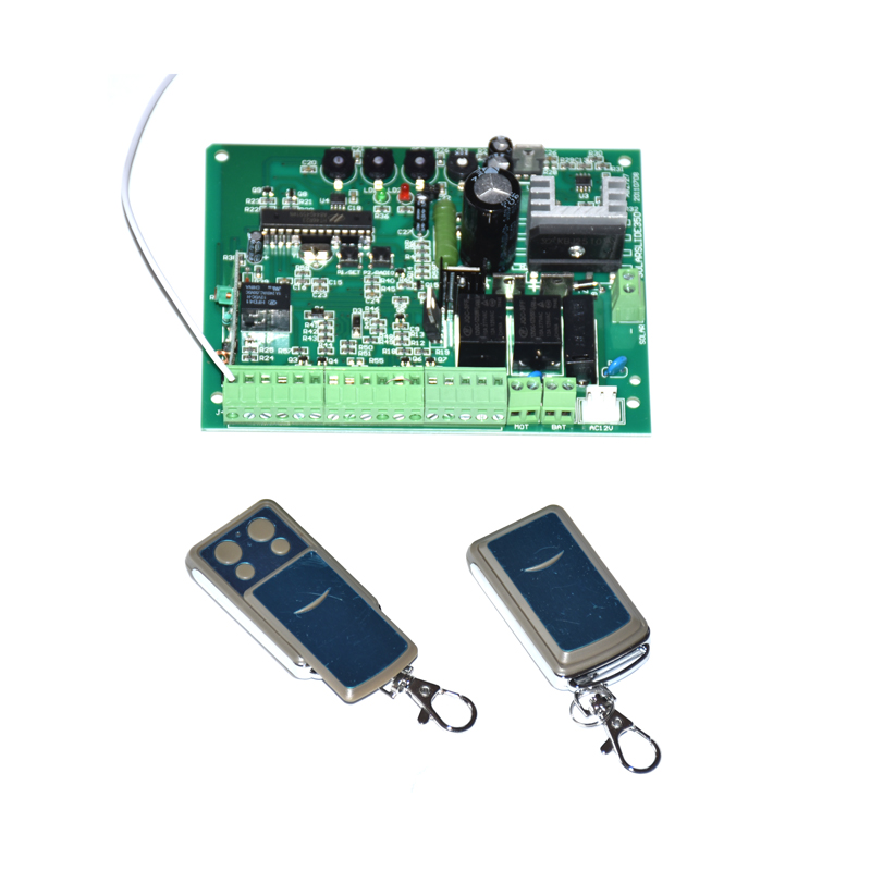 Motor Electronic Circuit Board Control Card Mother Board For 12VDC 24VDC Sliding Gate Opener Motor