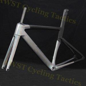 Cameleon pro eixo estrada-quadro de carbono-disco de carbono-cyclocross-quadro de disco-freio t1100 di2 bb30 compatível bicicleta conjunto de quadros guidão