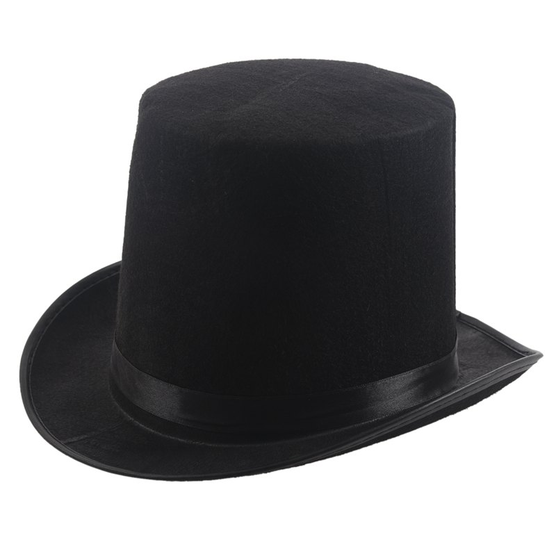 Top Hat Black Velour