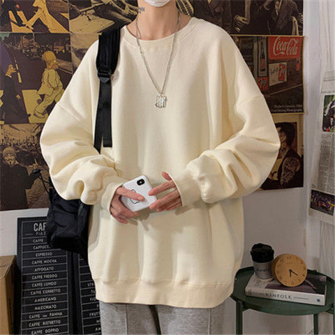 loose Korean style plus size sweatshirt winter clothes streetwear women 2020 new fashion plus velvet oversize harajuku hoodie 17