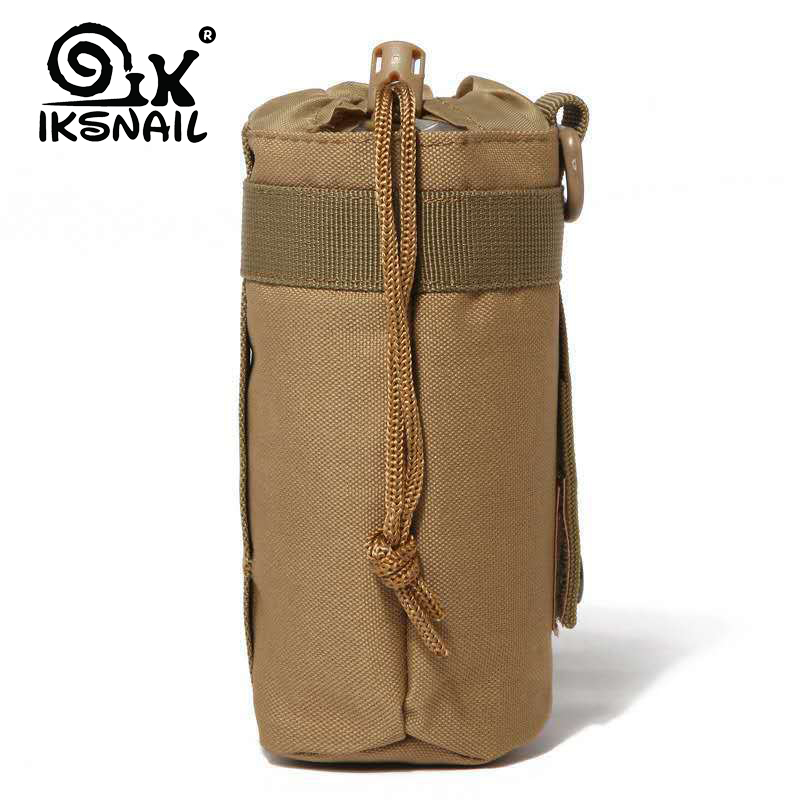 IKSNAIL Water Bottle Pouch Upgraded Travel 550ML Water Bottle Holder Bag Outdoor Hydration Carrier For Camping Hiking Fishing