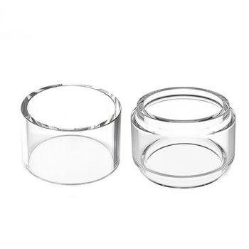 4pcs VapeSoon Replacement  Pyrex Glass Tube 4.5ML/6ML For Wotofo Bravo RTA  25mm TANK Atomizer