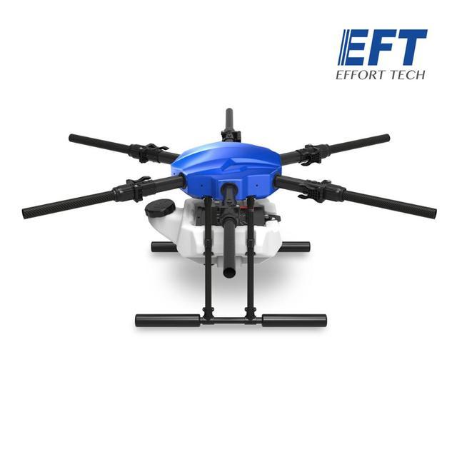 EFT E610S 10L الزراعية طائرة دون طيار للرش E610 10 كجم 610S فرش مضخة مياه رذاذ مع X6 مجموعة نظام الطاقة 3