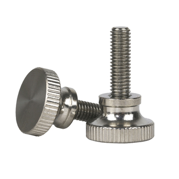 M1.6 Knurled Thumb Screw With Collar With Knurling Screws Manual Adjustment Screws Bolt Knukles Tornillos Parafuso Vis DIN464 PC