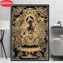 Sakyamuni And Arhat Thangka Tibet Buddhism Buddha 5d diy Diamond painting Cross Stitch kit full Diamond Embroidery mosaic decor