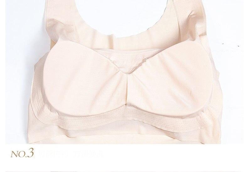 Plus Size Bras For Woman Push Up Seamless Bra Sexy One Piece Lingeries Underwear Women`s Bralette Ultra-thin Brassiere Femme Bra 23