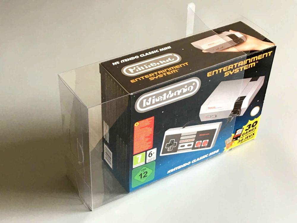 Collection Box Display Box Protection Box Storage Box Is Suitable For Nintendo NES Classic Mini And SNES Classic Mini