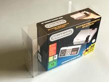 صندوق العرض الواقي ، صندوق التجميع ، مناسب لـ Nintendo NES Classic mini و SNES Classic mini