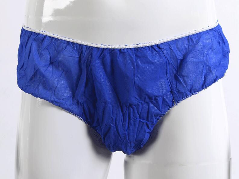 50PCS Disposable Shorts Boxer Briefs Thicker Panties Sauna Pants Bath  Non-Woven Boxer Shorts