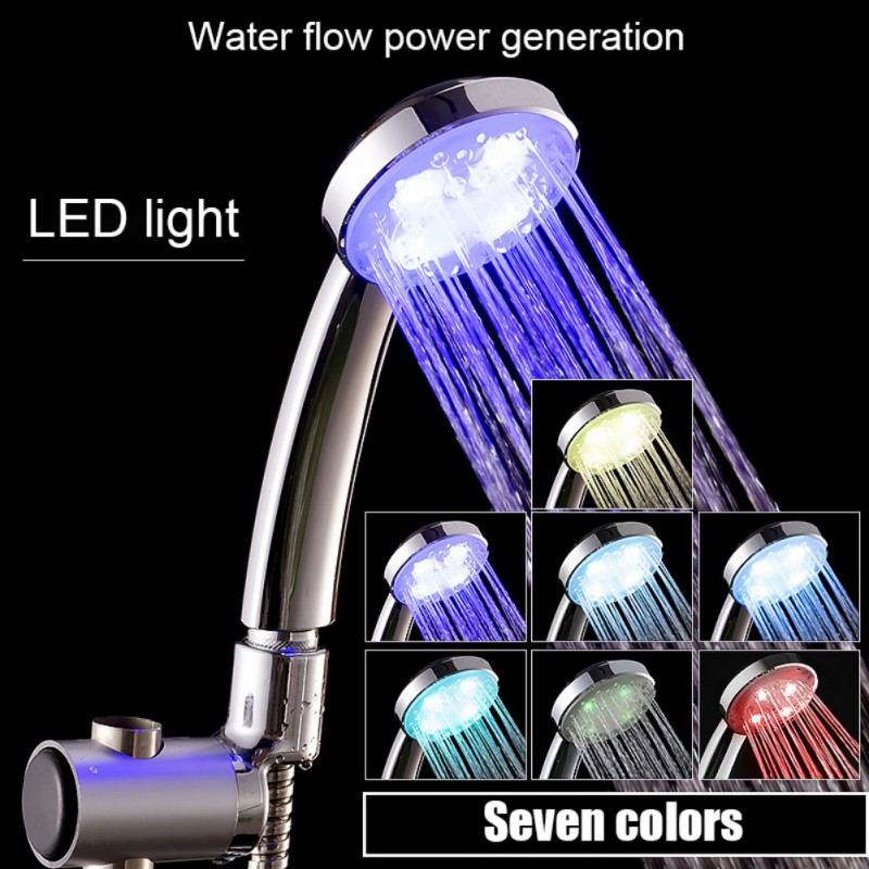 Ultimate SaleHose-Stand-Bracket Shower-Head Battery-Free Color-Changing Colorful NEW LED No Air-Injection╤