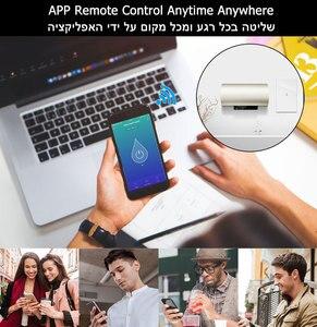 Image 3 - Wifi ボイラースマートスイッチ給湯器スイッチ音声リモコン米国標準ガラスタッチパネルタイマー屋外作業 alexa google ホーム