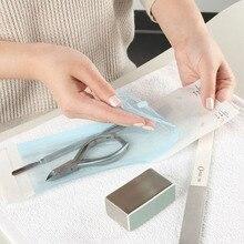 Самозапечатывающаяся стерилизационная сумка одноразовая сумка для хранения для педикюра салонные инструменты для ногтей аксессуары
