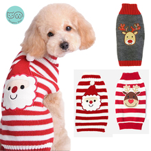 Sweaters Clothing Jumpsuit Puppy-Cats Dogs Winter for Small Medium Large Vest Pet-Dog