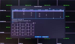 Image 5 - 5mp كاميرا تلفزيونات الدوائر المغلقة لوحة حمراء Hi3521D XMeye 5M N 16CH 16 قناة H265 + الصوت 6 في 1 واي فاي محوري الهجين Onvif XVI NVR TVI AHD DVR