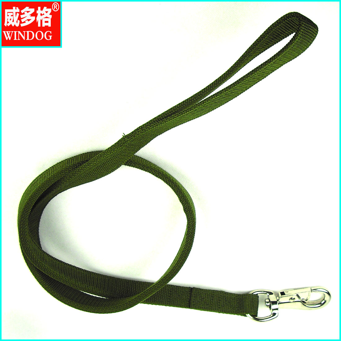Pet Traction Working Dog Army Green Traction Belt 4-Layer Thick Tauren Hook Large Dog Applicable
