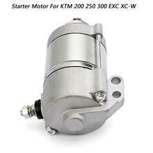 цена на 12V 410W Start motor  Starter Motor 55140001100 55140001000   For KTM 200 250 300 XC-W EXC EXC-E XC 2008-2012 2009 Motor Starter