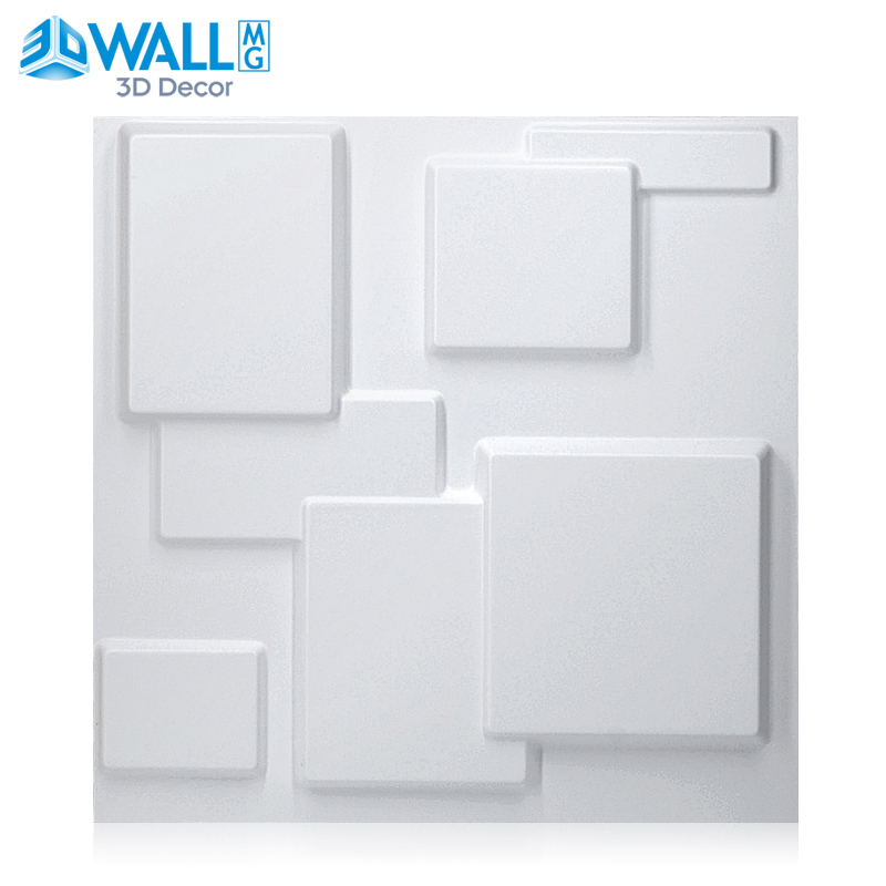 30x30 cm 3D tile panel mold plaster wall decoration 3D wall stickers living room wallpaper mural bathroom kitchen accessories