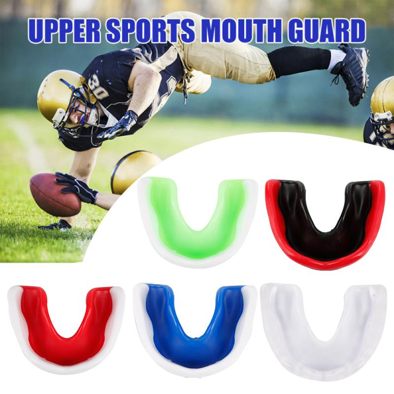 Sport Mouth Guard Taekwondo Muay Thai MMA Teeth Protector Mouthguard Tooth Brace Protection Basketball Rugby Boxing Sport Safety