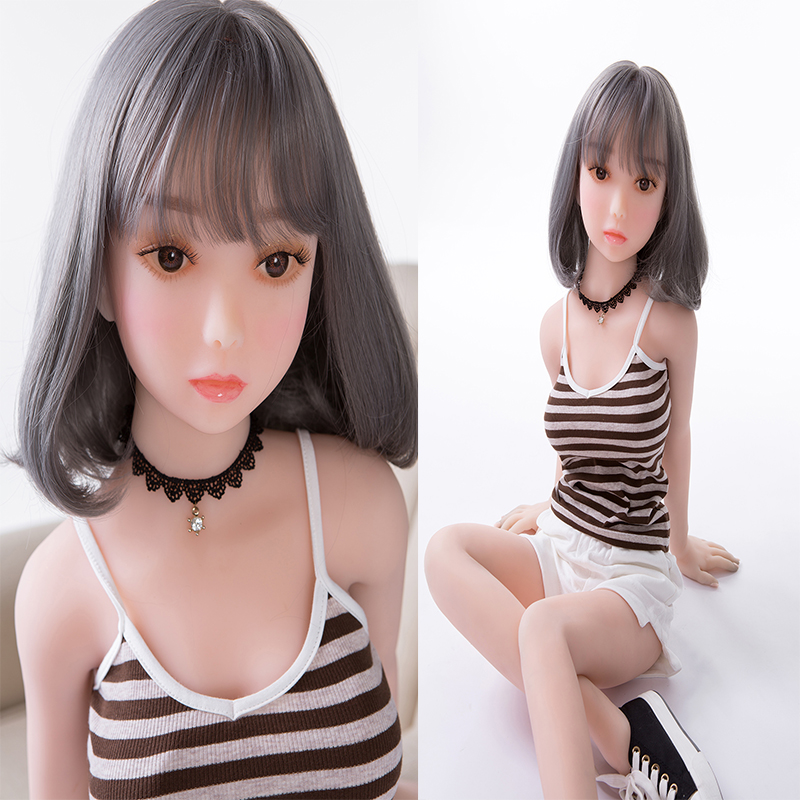 <font><b>115cm</b></font> Lovely silicone <font><b>sex</b></font> <font><b>doll</b></font> lifelike love <font><b>doll</b></font> japanese artificial vagina real pussy adult small breast <font><b>sex</b></font> <font><b>doll</b></font> image