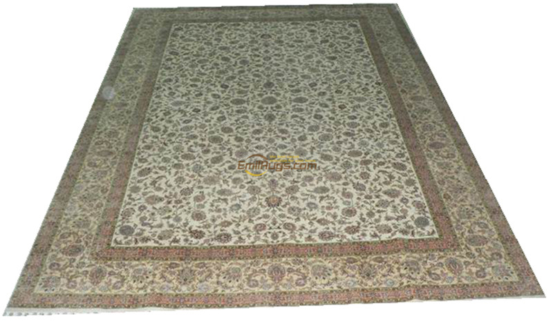 Silk Persian Rug Oriental Rugs Handwoven Carpets For Living Room Pattern    02007a260l