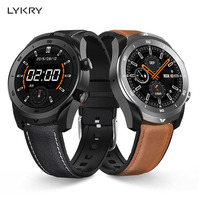 Lykry dt79 bluetooth chamada ecg relógio inteligente homem ip67 à prova dip67 água 360*360 resolução hd 560 mah longa vida útil da bateria smartwatch negócios|Relógios inteligentes|Eletrônicos -