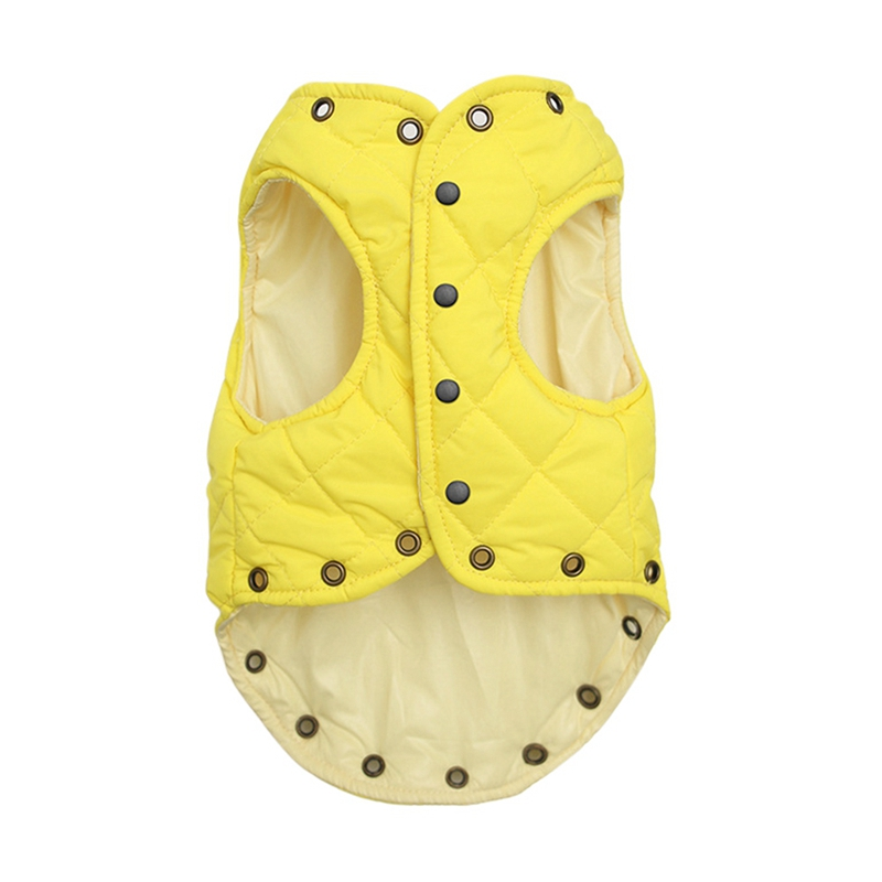 Cute Winter Warm Puppy Dog Vest Jacket Soft Sleeveless Small Dog Coat in Dog Vests from Home Garden