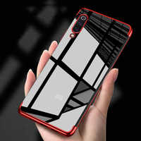 Funda de lujo para Redmi 5Plus 6A 6 Note 7 6 5 Pro Mi9 SE, funda de TPU suave, Fundas transparentes funda de teléfono para Xiaomi mi 9 9se Mi8 Lite