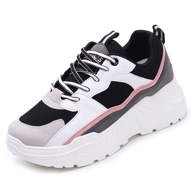 Women Sneakers 2020 Fashion Women Shoes Breathable Chunky Platform Sneakers Casual Shoes Women Trainers Dad Shoe Chaussure Femme