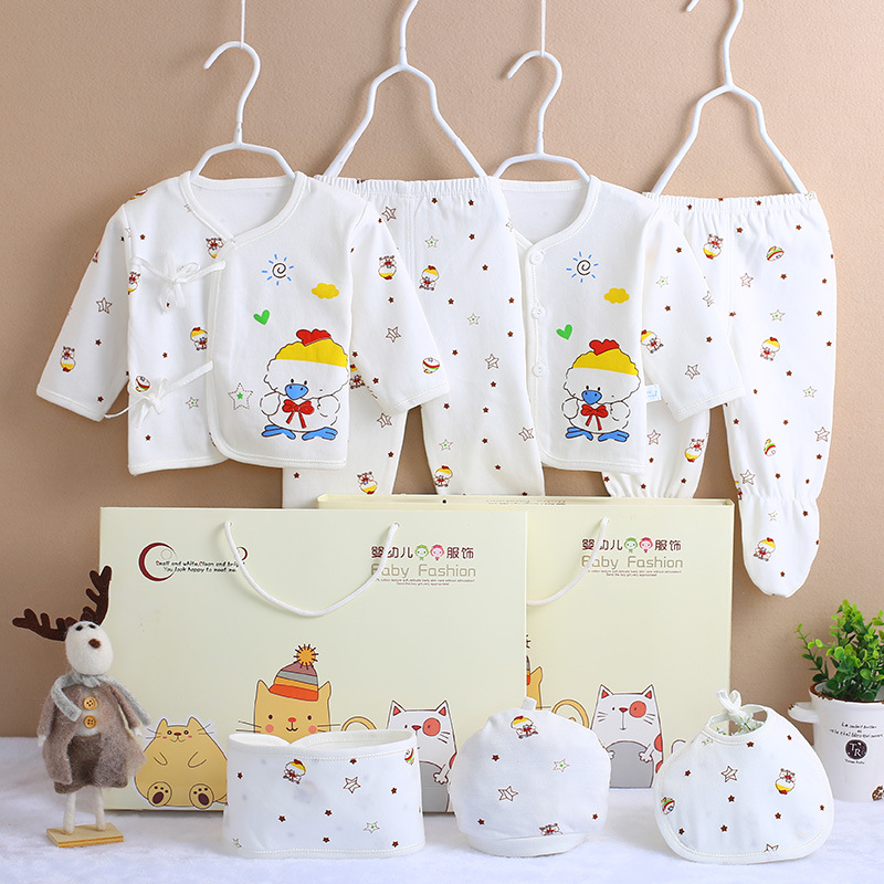 Pure Cotton Clothes For Babies Newborns Gift Set 0-3 Month Spring And Autumn Summer Primary Newborn Baby Supplies
