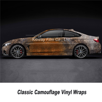classic wrapping folie rust Vinyl wrap foil camo vinyl Printing vinyl rust vinyl wrap car wrap roll Bubble free Clear pattern image