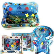 Baby Water Cushion Kids Play Mat Toys Inflatable Thicken PVC Playmat Toddler Fun Activity Patted Pad Center