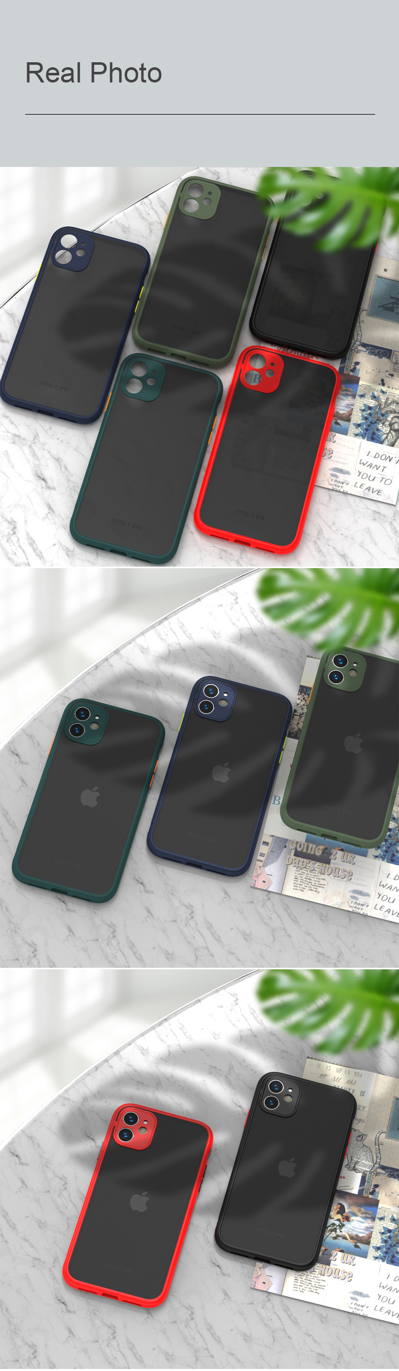 Shockproof iPhone Case (BUY 1 GET 1 FREE)