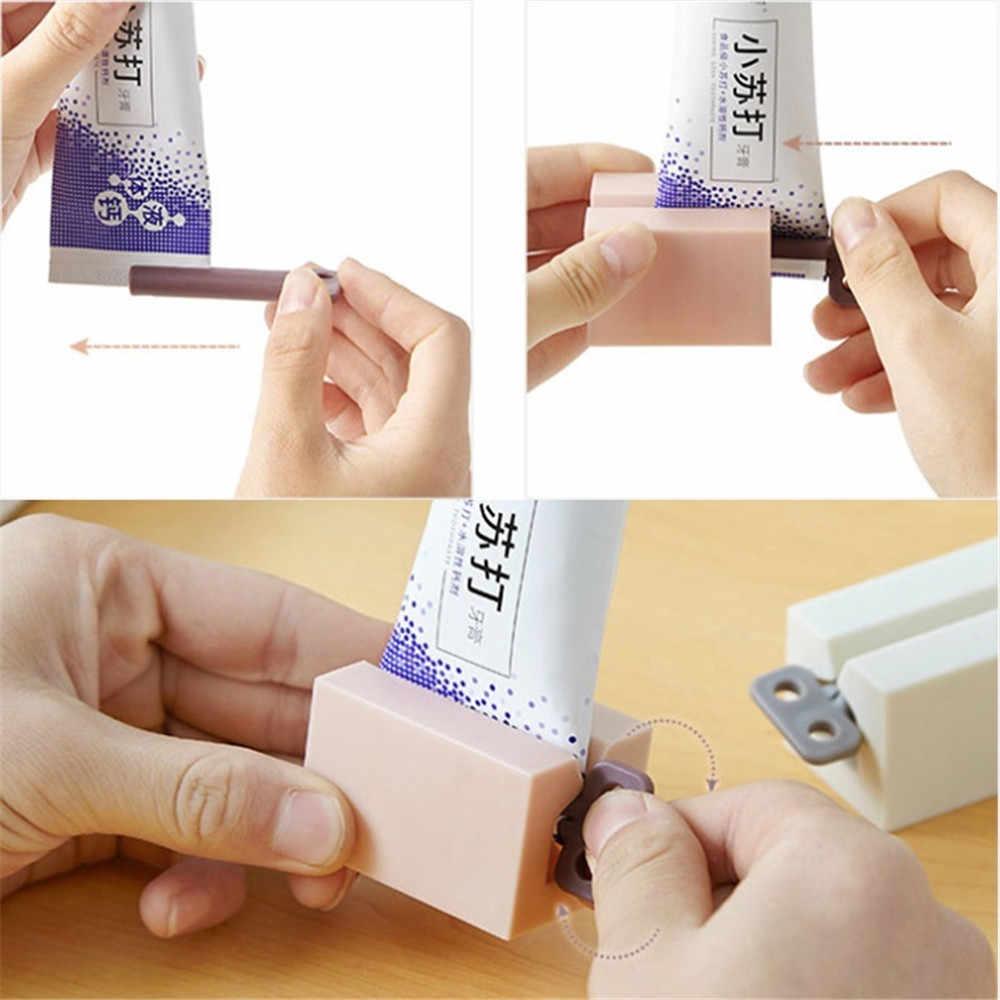 Zahnpasta Gerät Multifunktionale Zahnpasta Dispenser Gesichtsreiniger Presse Clips Manuelle Faul Zahnpasta Rohr Squeezer Drücken