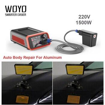 Herramienta de reparación de abolladuras de coche, calentador de inducción 220V/110V 1500W, herramienta de reparación de abolladuras de carrocería de coche sin pintura