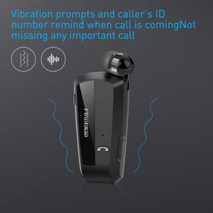 Image 2 - Fineblue F990 Newest Wireless business Bluetooth Headset Sport Driver Earphone Telescopic Clip on stereo earbud Vibration Luxury