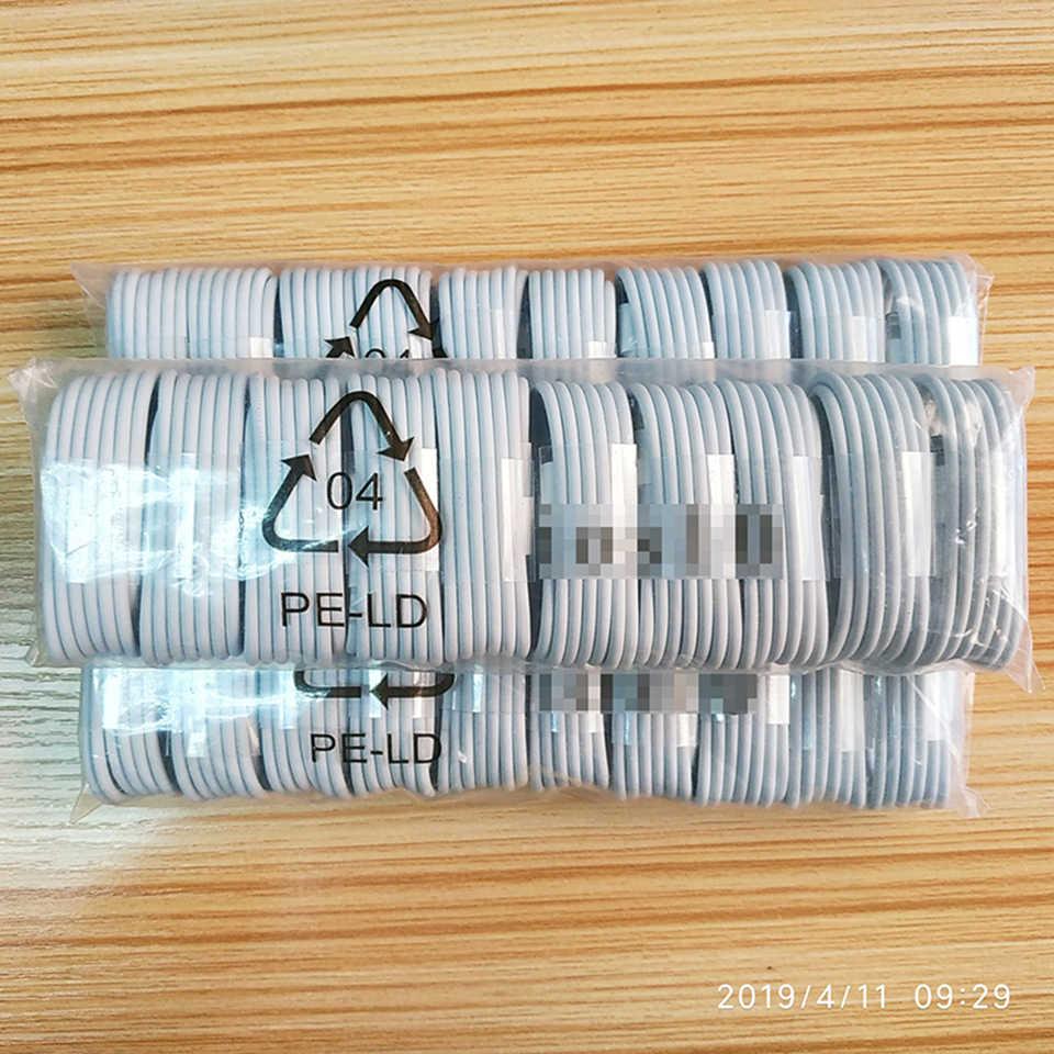10 قطعة USB كبل شحن ل فون 7 8 زائد X XS ماكس XR سريع شحن USB كابل بيانات ل فون 5 5S SE 6 6S زائد ipad mini air