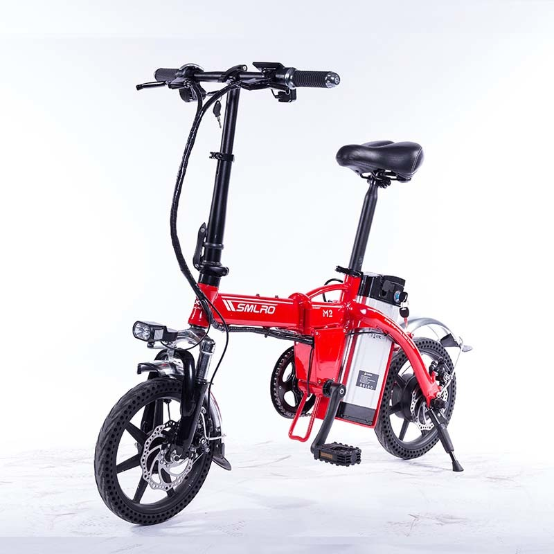 M2 Folding Electric Bicycle 48V Lightweight E-Bike Mini Electric Bike Aluminum Alloy Frame Foldable Ebike with Removable Battery 1