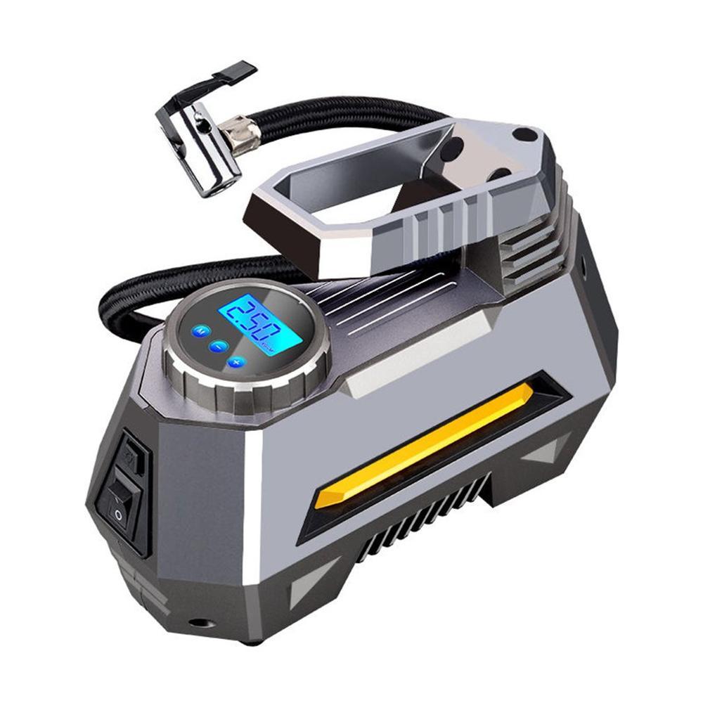 New Car Wireless Portable Hand-Held Air Pump Charging Air Pump Car Tire Tire Pump With Button Interface