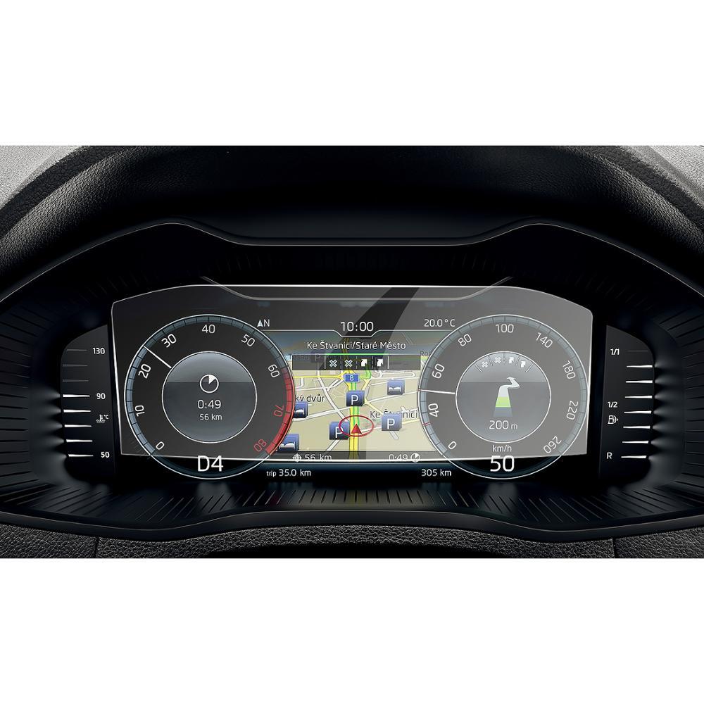 LFOTPP For Skoda Columbus Octavia/kodiaq/Superb/Karoq/Kamiq 10.25inch Car LCD Instrument Display Tempered Glass Screen Protector