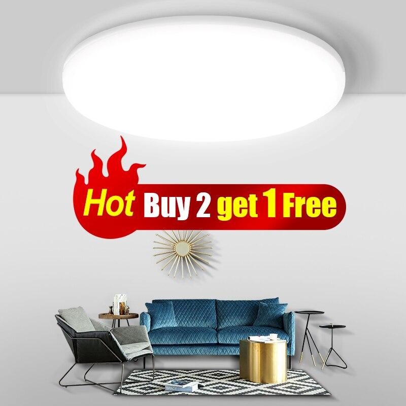 CY plafond moderne à LEDs lumières pour salon chambre luminaire pour plafonniers éclairage intérieur acheter 2 pièces obtenir 1 pièces 15W gratuit